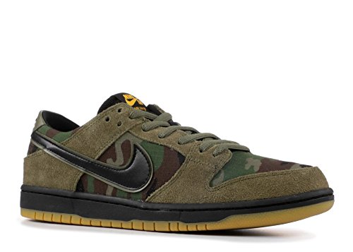 Nike Men's SB Zoom Dunk Low Pro Skate Shoe, Black
