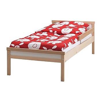 IKEA SNIGLAR - Estructura de cama con somier de láminas, haya - 70x160 cm: Amazon.es: Hogar