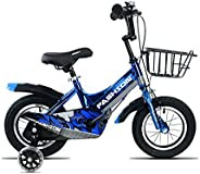 MAYQMAY 16 inch Kids Bike with Training Wheels for Adjustable Seat Boy's Bikes and Girl's Bik