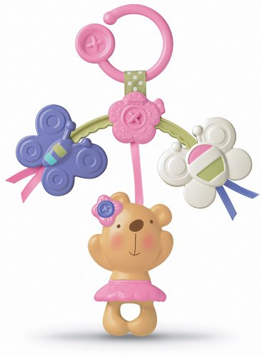 Fisher-Price Little Buttons Linking Mobile - Link to Baby's Stroller by Fisher-Price