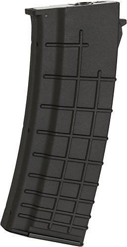 Evike - Echo1 / CYMA Genesis OCW 550rd Hi-Cap Magazine for AK74 Series Airsoft AEG Rifles - Black