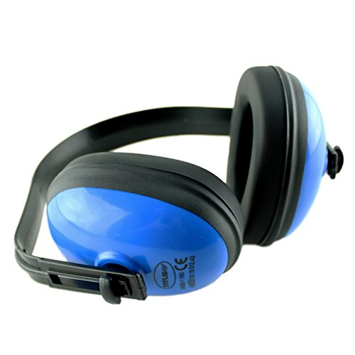 Titus Economy Series Earmuffs - Blue 25 NRR Rated - Hearing Protection
