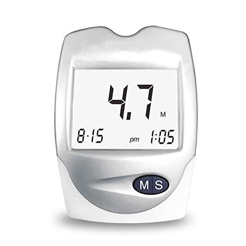 ZZYYZZ Cholesterol Monitor,3 in 1 Blood Sugar/uric Acid/Cholesterol Detector Home Three high Monitor +10 Cholesterol Test Strips