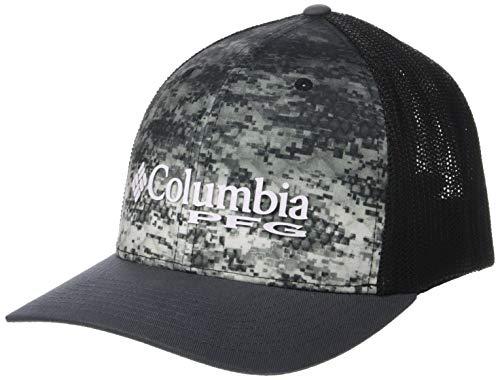Columbia Unisex PFG Camo Mesh Ball Cap, Tarpon Fade Camo, Small/Medium ()