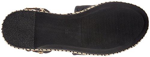 Inuovo Women's 8888 Ankle Strap Sandals, Nero Black (Black 16781933)