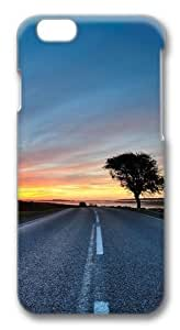 Hdr Road Custom iphone 6 plus 5.5 inch Case Cover Polycarbonate 3D