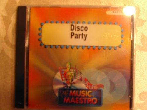 Music Maestro #6278 Disco Party Karaoke CDG-OOP