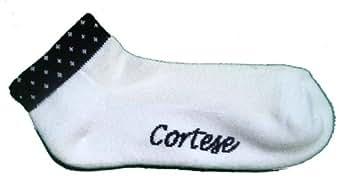Cortese Designs black polka dots socks