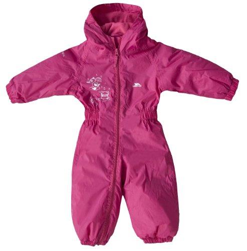 Kids Trespass DripDrop Padded Waterproof All In One Snow RainSuit