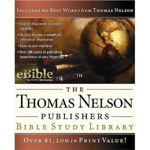 Thomas Nelson Bible Study Library