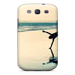 High Grade Mialisabblake Flexible pc Case For Galaxy S3 - Playful On The Beach