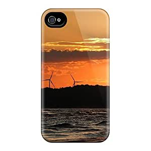 YuELPuS5411iuiFe Dana Lindsey Mendez Tubines At Sunset Feeling Iphone 4/4s On Your Style Birthday Gift Cover Case