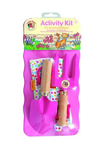 Tierra Garden 7-LP111 Little Pals Kids Activity Kit, Pink