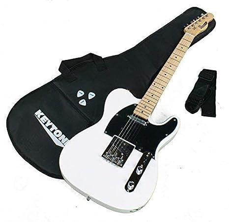 Keytone E- Guitarra TL Estilo Deluxe & Accesorios: Amazon.es ...
