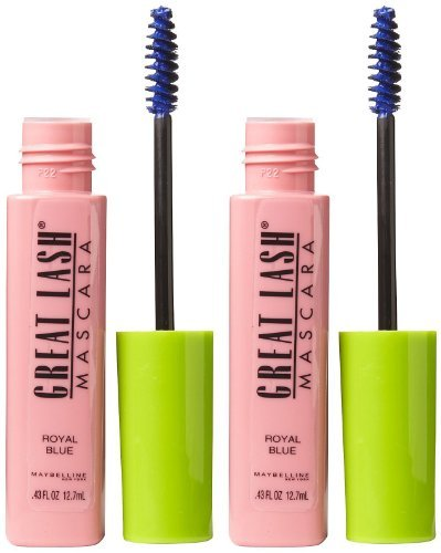 Maybelline Great Lash Mascara - Royal Blue - 2 Pack ()