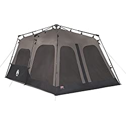1 of Coleman 8-Person Instant Cabin  sc 1 st  Amazon.com & Amazon.com : Coleman 14x8 Foot 8 Person Instant Tent with Rainfly ...