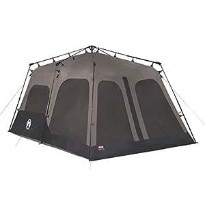 Amazon Com Coleman 8 Person Instant Cabin Family Tents
