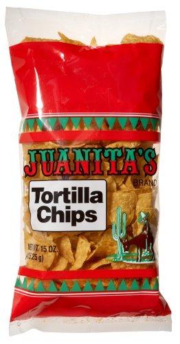 Juanita Yellow Tortilla Chips, 15 oz