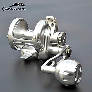 Amazon.com: CAMEKOON - Carrete de pesca con palanca de agua ...