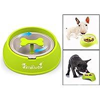 Itian Perro alimentador alimentación lenta Pet Bowl