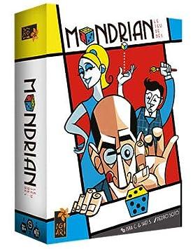 Tranjis Games - Mondrian - Juego de mesa (TRG-02mon): Amazon.es ...