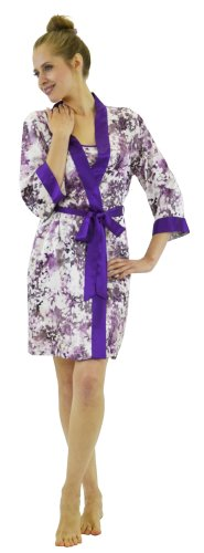 French Floral Robe - 8