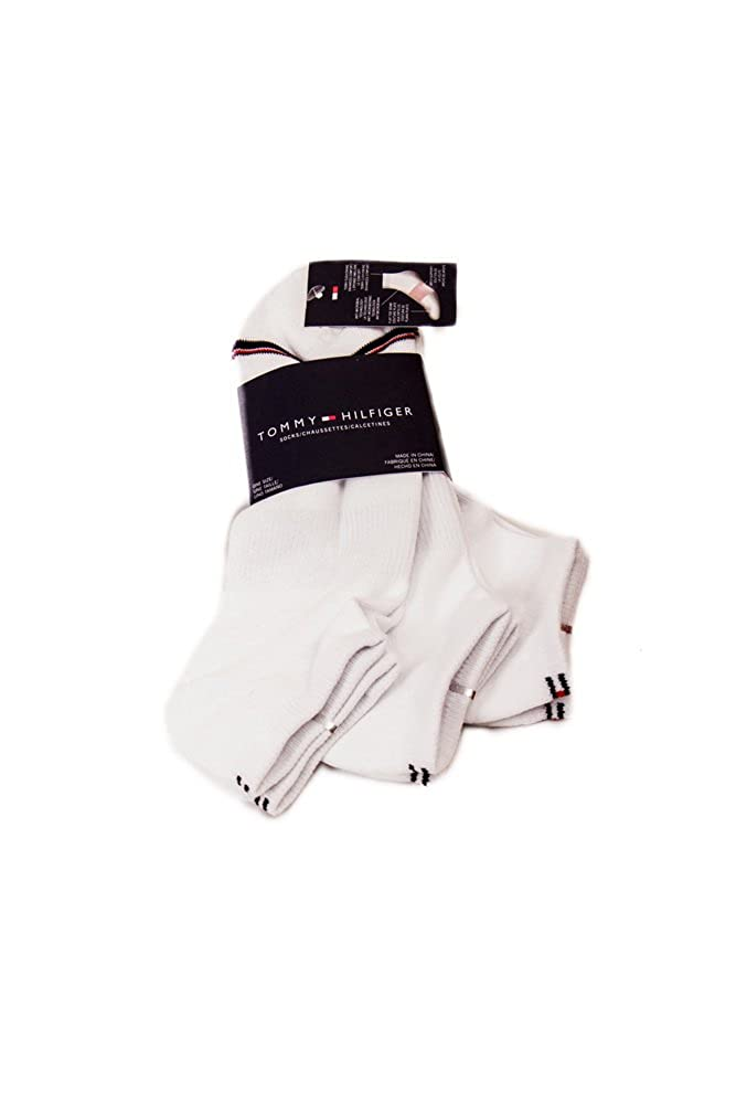 one size white socks TOMMY HILFIGER Pack of 3