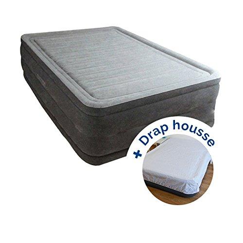 RAVIDAY Pack Cama Hinchable Intex Comfort Plush High Fiber ...
