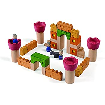 Amazon Com Treehaus Wood Castle Blocks Toys Amp Games