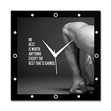 Buy Bluegape Gym Hard Wall Clock Online at Low Prices in India