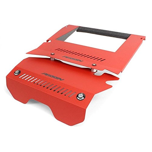 Perrin Performance PSP-ENG-165RD Perrin 15-16 Subaru Wrx Engine Cover Kit - Red