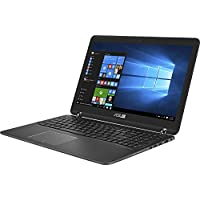 Asus Q534UX-BHI7T19 2-in-1 15.6 4K Ultra HD Touch-Screen Laptop (7th Gen Intel Core i7-7500U, 16GB Ram, 512GB SSD + 2TB HDD, NVIDIA GTX 950M Thunderbolt, Windows 10) Chocolate Black Aluminum Hairline