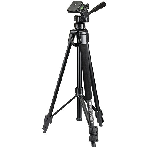5858D PHOTO/VIDEO TRIPOD, 5858D Photo/Video Tripod, Extends to 58
