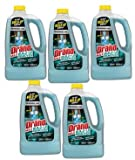 Drano Max Build-Up Remover, Commercial Line, 64 fl oz (Pack of 5)