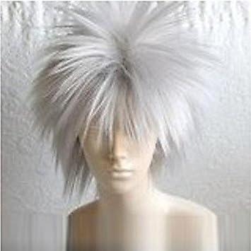 cosplay? naruto hatake kakashi cosplay peluca blanca: Amazon.es ...