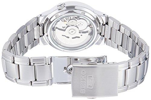 Seiko Men's SNKA01K1 Seiko 5 Automatic White Dial Stainless Steel Watch