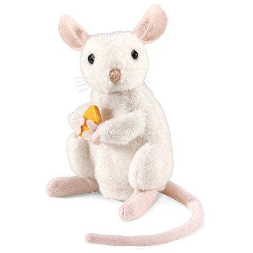 Folkmanis Nibbling Mouse with Turning Head Puppet