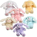 Greenbrier Plush Floppy-Eared Easter Bunny, Random Color, Small