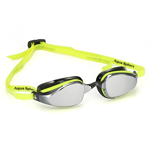 MP Michael Phelps K180 Goggle Mirrored Lens Yellow/Black