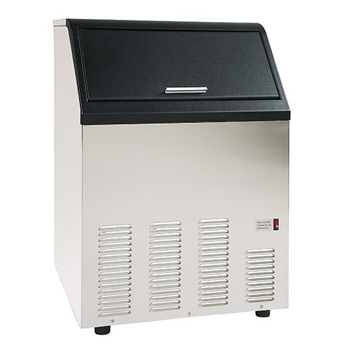 Central Exclusive 69K-083 Undercounter Cube Ice Machine, 130lb. (130 Lb Bin)