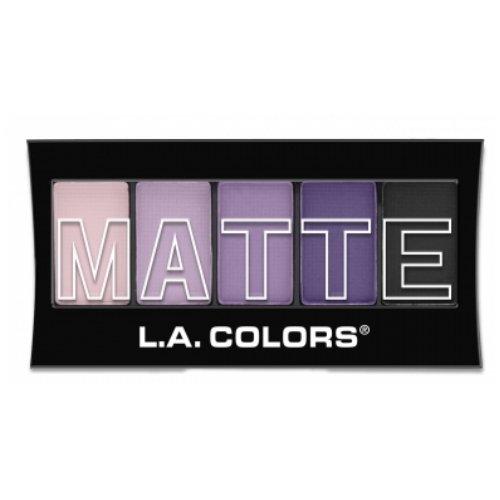 L.A. Colors Matte Eyeshadow - Purple Cashmere
