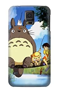 S0875 Totoro and Friends Case Cover For Samsung Galaxy S5