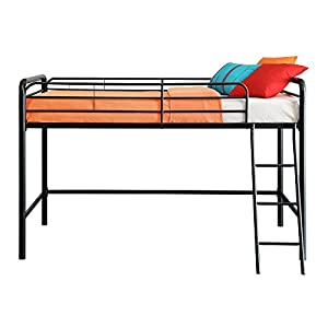 DHP Junior Loft Bed Frame with Ladder, Multifunctional Space-Saving Design 8