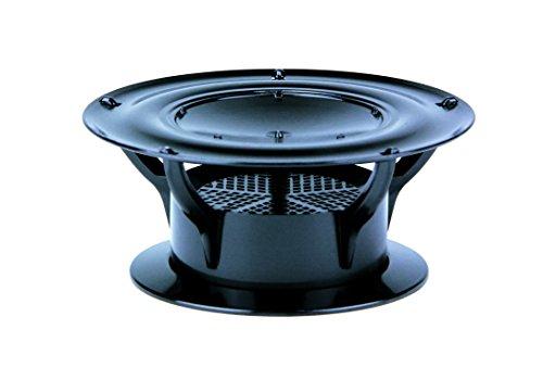 (Lippert Components 389380 360 Siphon Roof Vent Cap - Black (Gen 2))