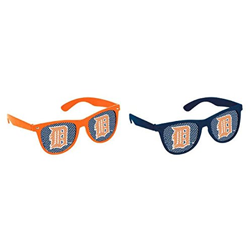 LicensedMLB Detroit Tigers Party Printed Glasses Accessory, Plastic, 2
