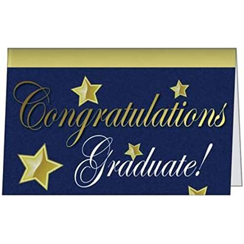 Graduation Congratulations Diploma Degree Grad School Greeting Card (5x7) by QuickieCards. Always fast & FREE Sales