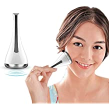 Wrinkles Lifting V Face Massager Electric Vibrant With Anti Aging Firming Skin Wrinkle Dark Circles Remover Roller Beauty Tools For Eye Face Magnetic Introducer For Women Men(Batteries Included)