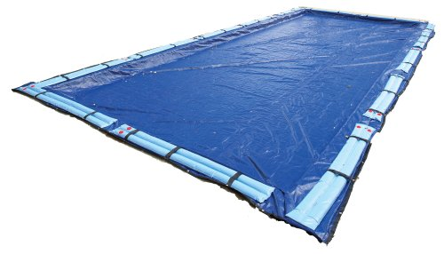 Gold Winter Rectangular Pool Cover - Blue Wave Gold 15-Year 16-ft x 32-ft Rectangular In Ground Pool Winter Cover