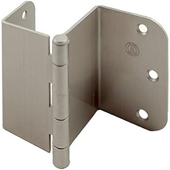 Stone Harbor Hardware, 3.5 inch Swing Clear Offset Door Hinge (Satin Nickel)