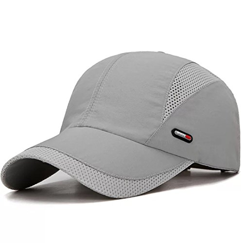 Lightweight Hat - LAOWWO Sun Hat Running Golf Cap Hat Quick Dry Mesh Outdoor Sport Baseball Cap Hat Lightweight Breathable